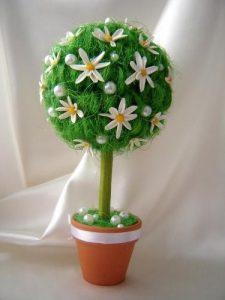пример топиария, дерево счастья