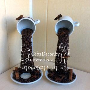 Парящие чашки Кофейная пара