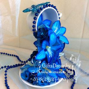 Парящая чашка Голубая мечта