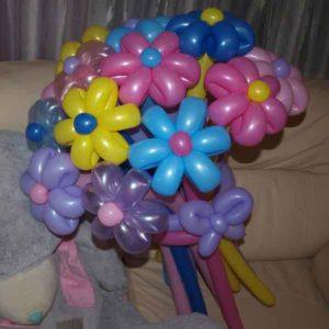 """Букет из воздушных шаров """"15 ромашек"""""""