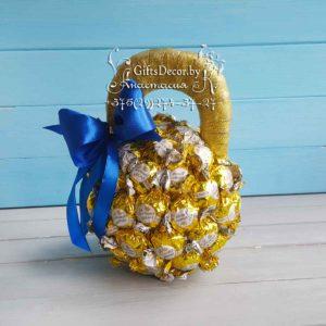 Гиря из конфет
