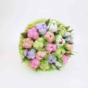 """Букет из конфет """"Нежность Весны"""""""